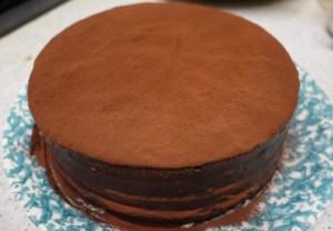 ケーキできあがりホール