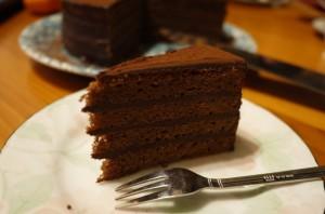 ケーキできあがり