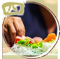 4.職人の心意気を料理に伝える