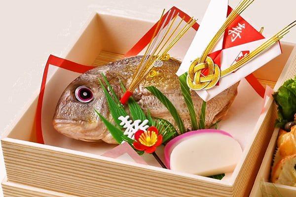 お食い初めの鯛イメージ
